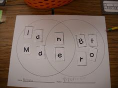 Freebie Name Venn Diagram template to use at the beginning of the year, or anytime!