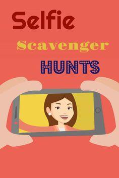 Selfie Scavenger Hunt   Life With Heidi