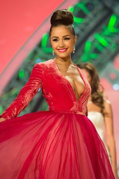 Miss USA Olivia Culpo Is Crowned Miss Universe 2012.