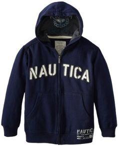 Nautica Boys 8-20 Fleece Hoody Hoody, Mens Sweatshirts, Boy Outfits, Adidas Jacket, What To Wear, Mens Fashion, Boys, Sweaters, Jackets