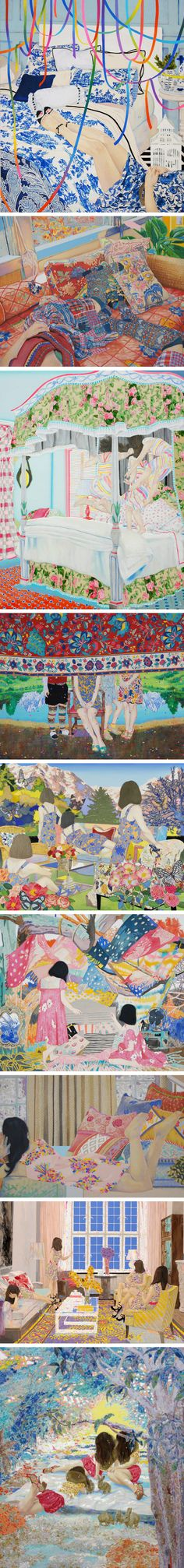 This is my dream world. Naomi Okubo – Tokyo, Japan-born artist.