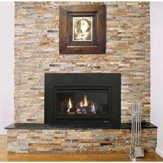 No more drafty, dated fireplaces. No more messy maintenance. No more soot and smoke. It's time for an immediate upgrade, with interest. Cozy Fireplace, Fireplace Design, Fireplace Ideas, Artificial Fireplace, Gas Insert, Log Fires, Gas Logs, Fireplace Inserts, Gas Fireplaces