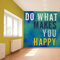 Do what makes you happy! Surround yourself with decor that inspires you.