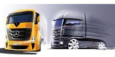 Concept Mercedes Truck