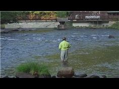 Trout Fishing : How to Set the Hook when Fly Fishing - YouTube