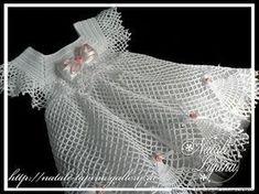 petit robe au crochet - Les créations de Salvina