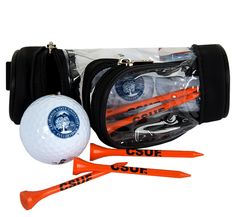 CSUF Golf Ball and Tee Pack