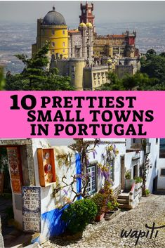 Prettiest small towns in Portugal you must see These charming small towns in Portugal are absolutely worth a visit. Take a look at these beautiful towns to discover which one you would like to visit. Portugal Vacation, Places In Portugal, Portugal Travel Guide, Visit Portugal, Spain And Portugal, Portugal Trip, Lisbon Portugal, Trekking, Travel Usa