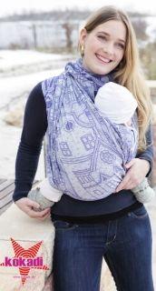 kokadi baby carrier Sweet Home - 50% cotton, 45% modal, 5% cashmere