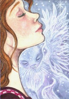 http://kootiesmom.deviantart.com/art/Missing-You-2-199203879 ACEO - Eyes Closed...Heart Open by KootiesMom on deviantART