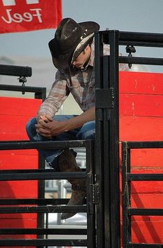 Rodeo cowboy. My dream is to one day go to Cheyanne, Wyoming and see a real rodeo!