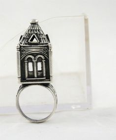 Russian Antique Judaica Sterling Silver 84 Bridal Jewish Wedding Ring 19th