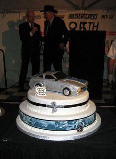 Shelby Mustang Cake Mustangs Etc Pinterest Mustang cake Cake