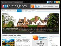 EstateAgency Free WordPress Theme