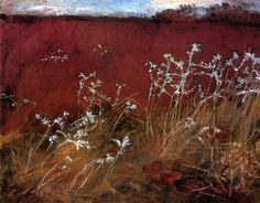 Marsala Compositions- Thistles - John Singer Sargent  http://paintwatercolorcreate.blogspot.com/2014/12/marsala-color-of-year-in-art.html
