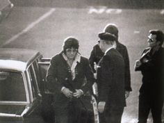 1971 10 21 PRESS. Arriving to provide a blood sample in the paternity suit filed by Patricia Parker