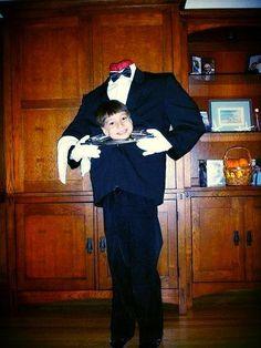 Kids Halloween Costumes: Headless Butler