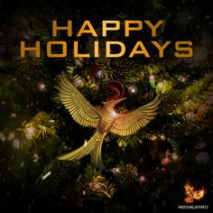 Wishing you a happy holiday from The Hunger Games: #MockingjayPart2!