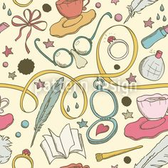 Sketchboard by Viktoryia Yakubouskaya available for download on patterndesigns.com