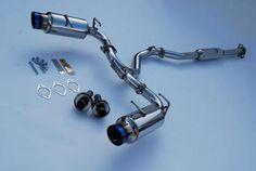 Invidia N1 Cat Back Exhaust - 12-UP Subaru/Scion/Toyota BRZ FRS GT86 - Dual Titanium Tips-Automotive Shed
