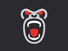 Bad Monkey designed by George Bokhua. Connect with them on Dribbble; Best Logo Design, Branding Design, Graphic Design, Logo Branding, Logo Luxury, Monkey Art, Logo Color, Animal Logo, Illustrations