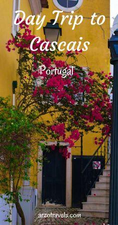 Day trip ideas from Lisbon, Portugal. Cascais