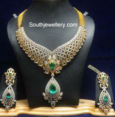 diamond_south_indian_bridal_jewelry.jpg 944×960 pixels