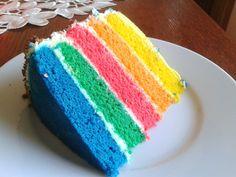 Duhový dort :: Just FOOD Cake, Desserts, Food, Tailgate Desserts, Pie, Kuchen, Dessert, Cakes, Postres