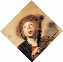 A Boy with a Viol - Frans Hals