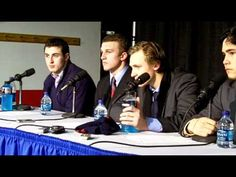Lee Moffie and Luke Glendening on their play in the GLI title game.MOV
