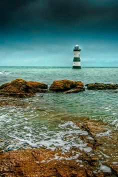 penmon point lighthouse, wales