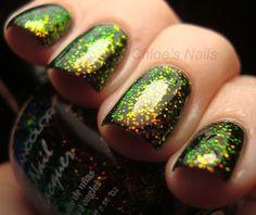 Chloe's Nails: Kleancolor Black Chunky Holo