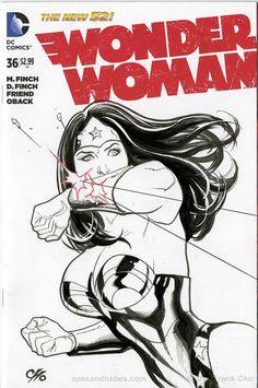 Wonder Woman by Frank Cho *