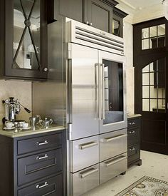 Love the Professional-Grade Refrigerator and the cabinets.