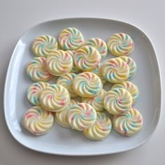 White Chocolate Confetti Drops by NicolesTreats on Etsy, $10.00