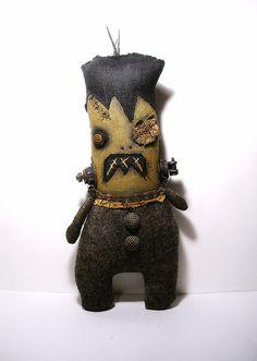 Frankenstein Creature by junkerjane, via Flickr