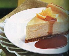 Find the recipe for Orange Cheesecake with Caramel-Orange Sauce and other vanilla recipes at Epicurious.com