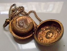 1850s Victorian Early Queen Portrait Coin Locket Holder London Large Special Antique Jewelry Coin Purse by AntiquesRPenineGreen on Etsy
