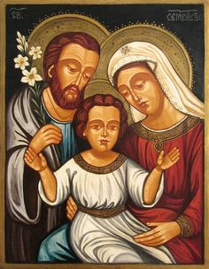 The holy family by zograf