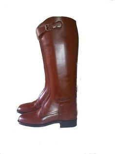 Riding Gear, Riding Boots, Polo Boots, Chocolate Color, Pitch, Leather Boots, Strong, Colour, Detail