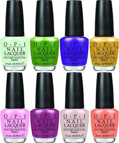 OPI Hawaii Spring 2015 Nail Polish Collection  #nailpolish #naillacquer