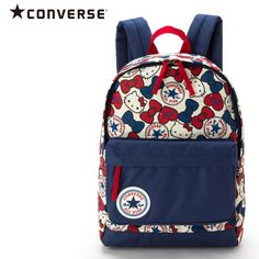 Hello Kitty x Converse Collaboration Kids Backpack Large L Size SANRIO JAPAN