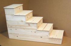 5 step cedar dog step