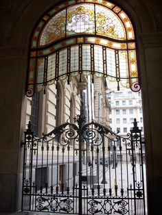 Fancy details at the original entrance for carriages of Teatro Municipal, the wonderful São Paulo Opera House