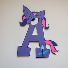 My Little Pony Custom Wood Letters Cumple My Little Pony, My Little Pony Birthday, Birthday Parties, Birthday Gifts, Wood Letters, Custom Wood, Photo Props, Little Ones, Kids Room