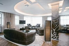 Modern Apartment With Ethnic African Interior Design