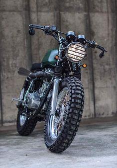 Custom cafe racer motor