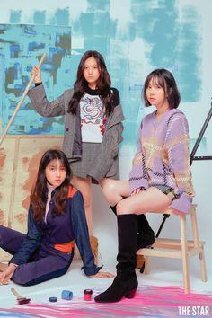 Gfriend x The Star magazine, September 2018 South Korean Girls, Korean Girl Groups, Father Daughter Photos, Korean Photoshoot, Sister Poses, Group Poses, Star Magazine, Photographer Branding, Couple Photography Poses