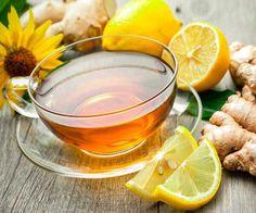 зеленый чай имбирь лимон мед рецепт напитка