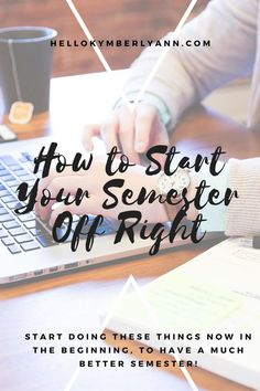 How to Start Your Semester Off Right. Tips for Students as they start that new semester. College Semester, College Majors, College Hacks, College Fun, College Students, College Planner, College Basketball, Weekly Planner, College Notes